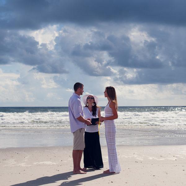 Lynn & Casey | Guana Beach Elopement | Ponte Vedra Beach, Fla..
