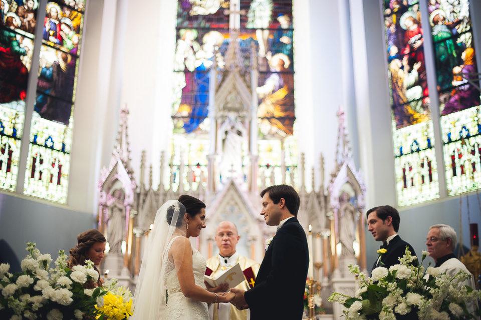 John & Cristina | Downtown Jacksonville Wedding | Immaculate Conception Catholic Church & University Club | Jacksonville, Fla.