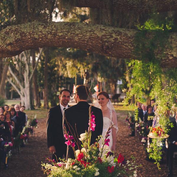 Katie & Jason | Saint Augustine Wedding | Fountain of Youth/The White Room | St. Augustine, Fla.
