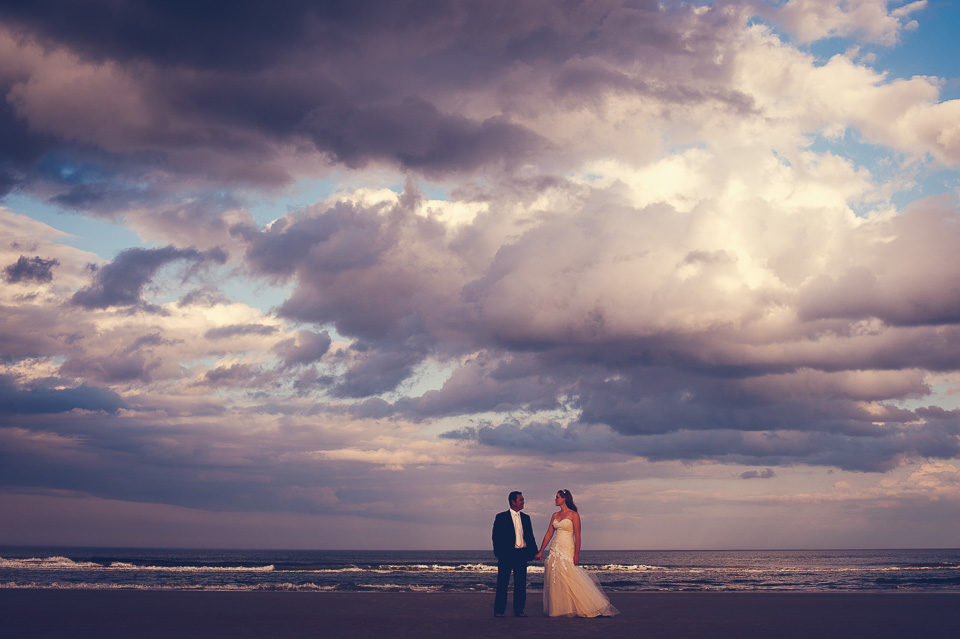 Brittany & Jerry | Beach Wedding Session | Crescent Beach, Fla.