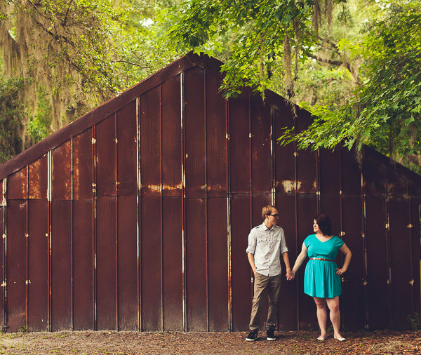 Theresa & Scott | Alpine Groves Park Engagement | Jacksonville, Fla.
