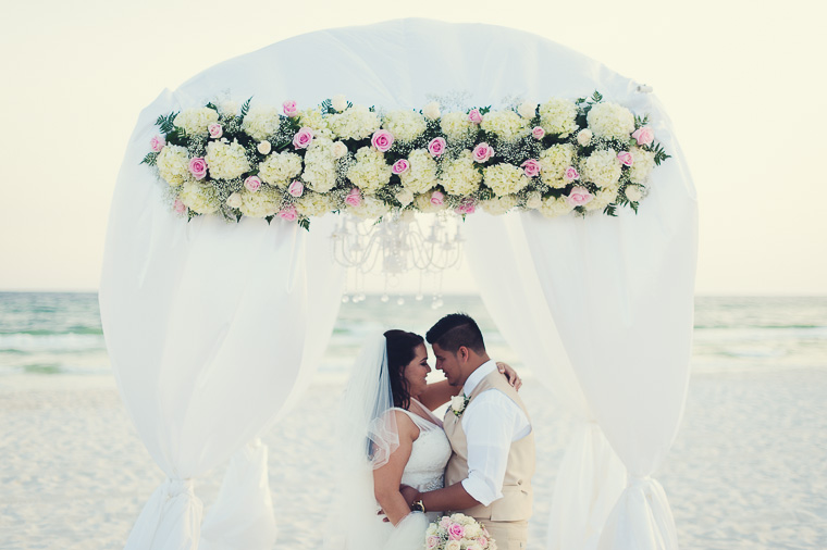 Anjelica & Jon   Beach House Wedding   Panama City, Fla.