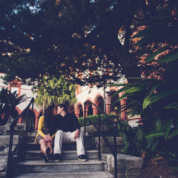 Zac & Chelsea | St. Augustine Engagement