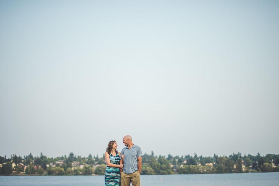 Liz & Dave | Greenlake Park | Seattle, WA