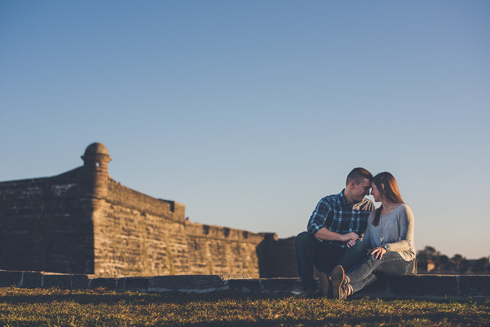 Lyle & Hillary | St. Augustine Engagement