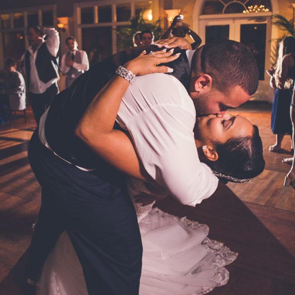 Dulcina & Angel | St. Augustine White Room Wedding