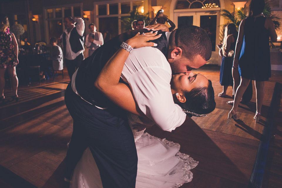 Dulcina & Angel   St. Augustine White Room Wedding