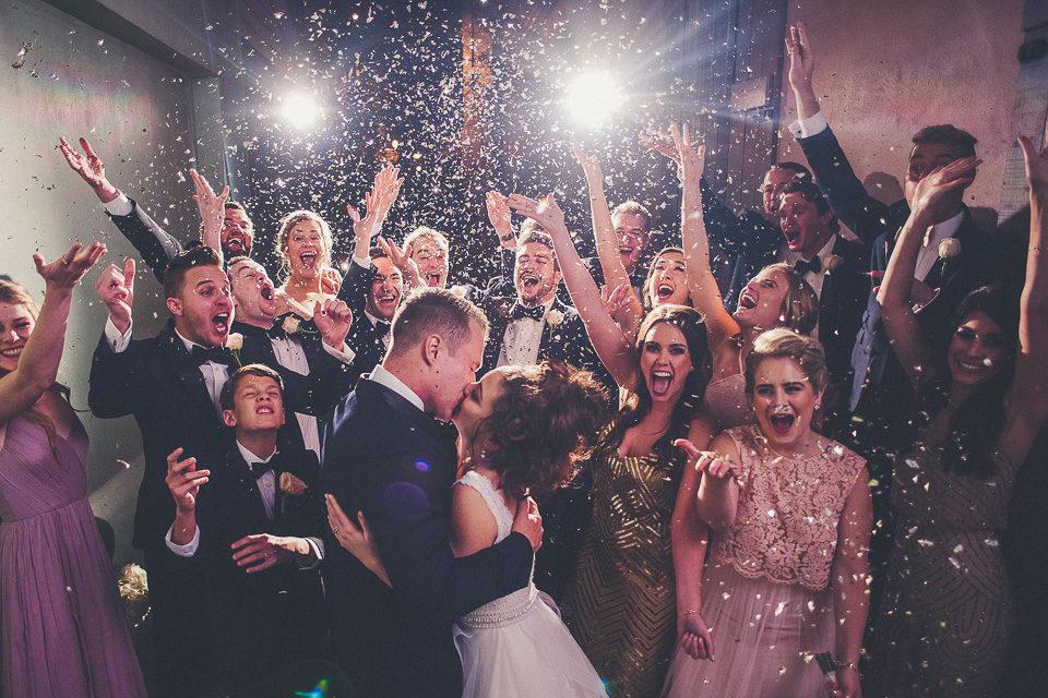 Megan & Blake   The White Room Wedding