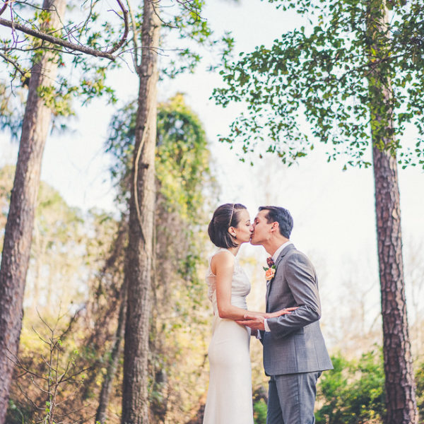 Danielle & Matt | Jacksonville Backyard Wedding