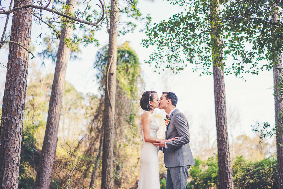Danielle & Matt | Jacksonville Backyard Wedding