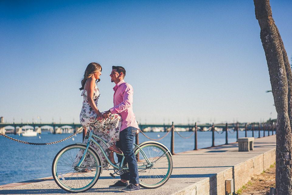 Kristin & Eddie | St. Augustine Engagement