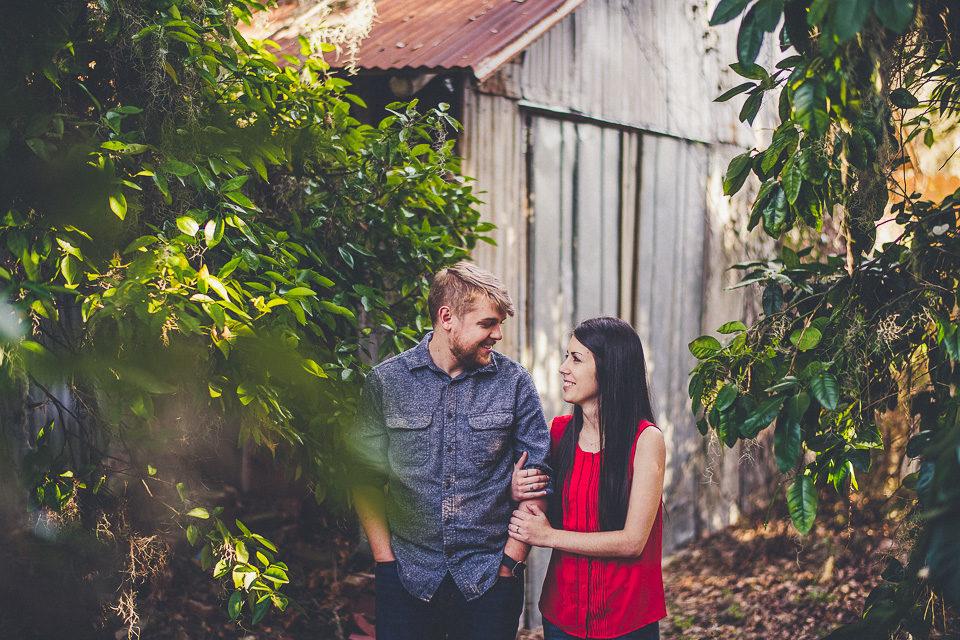 Molly & Tyler   Jacksonville Engagement