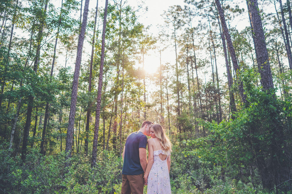 Julington-Durbin Preserve Engagement | Jacqui + Chris