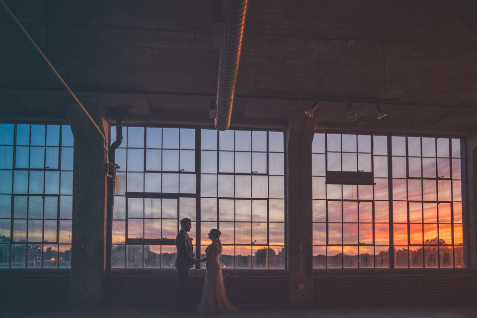 The Lofts at Union Square Wedding | Hollie + Matt | High Point, NC